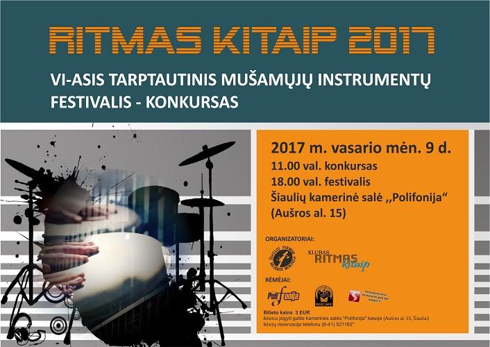 RITMAS KITAIP 2017